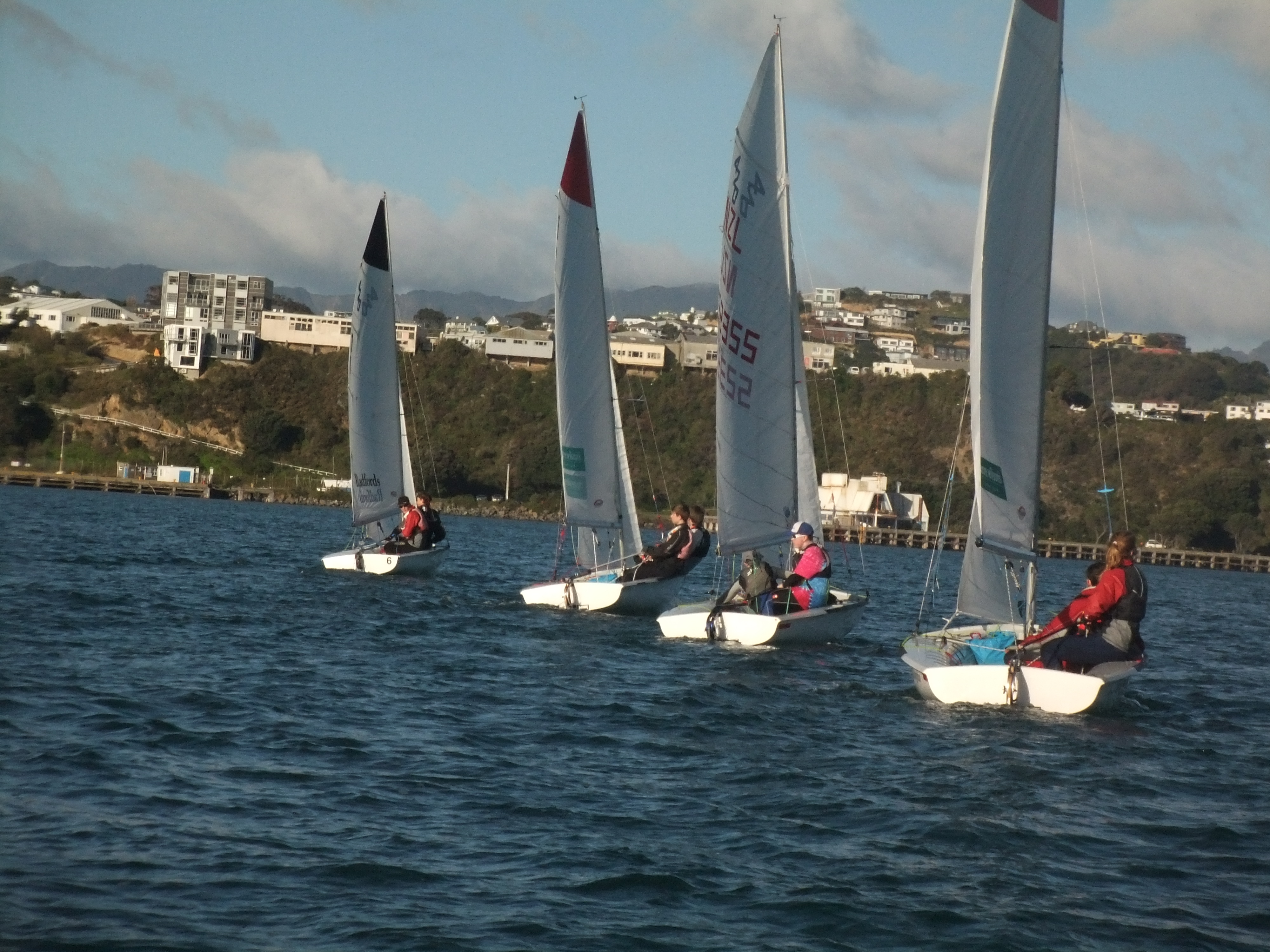 420 Sailing class Learn to sail Wellington